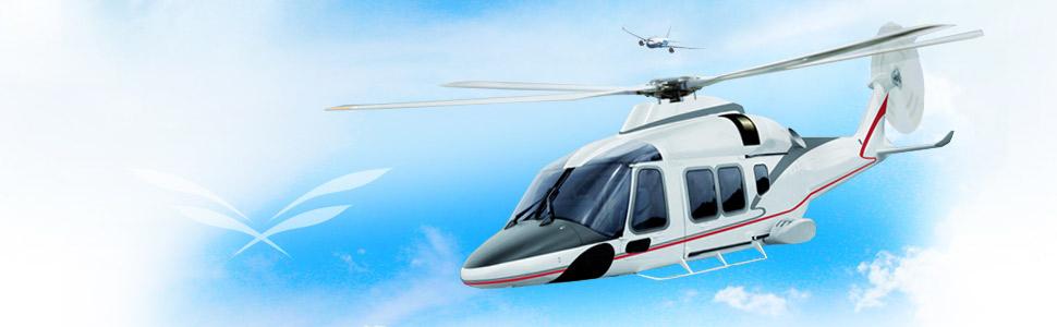 Location et vente d'hélicoptères VIP customisés